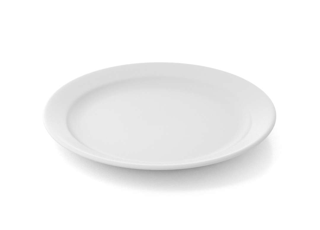 Shoham Main Course Plate 23cm 324 White