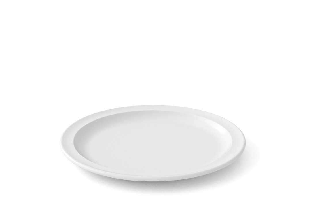 Bareket First Course Plate 18cm 53 White