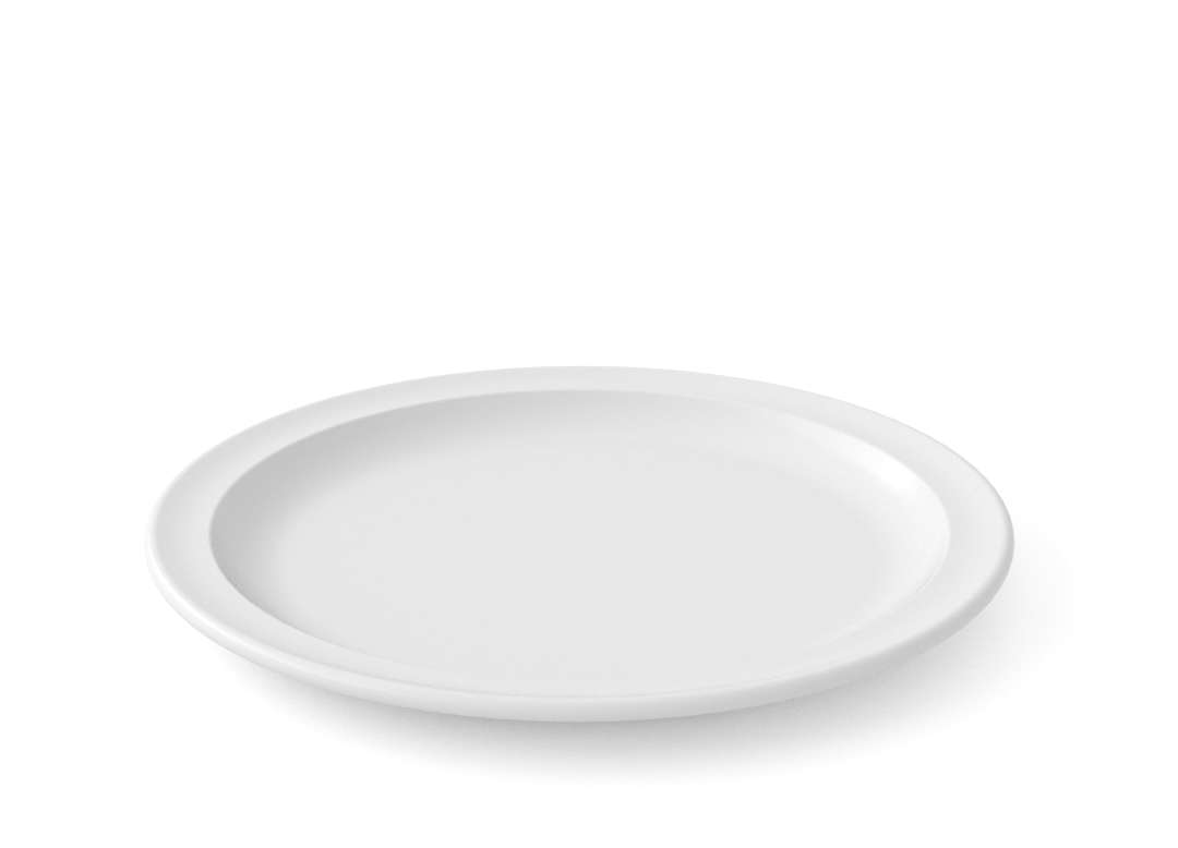 Bareket Main Course Plate 22cm 52 White