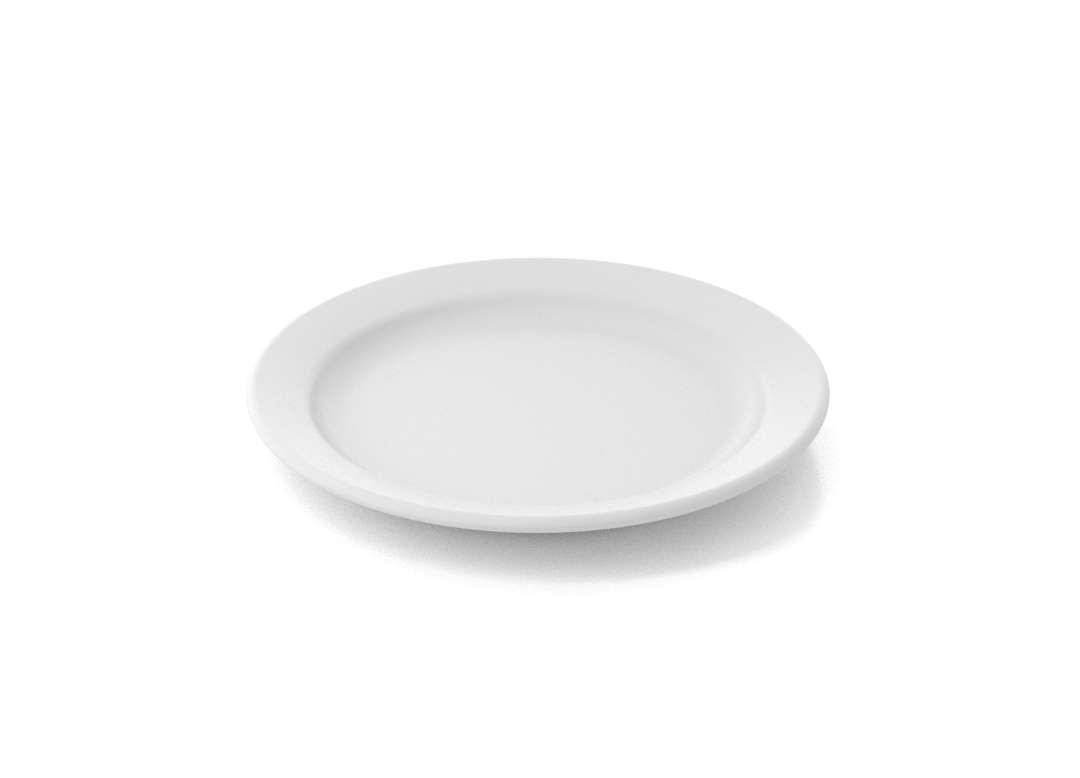 Shoham Dessert Plate 17cm 320 White