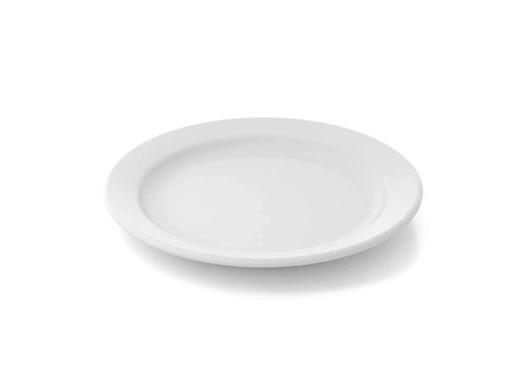 Shoham First Course Plate 19cm 322 White