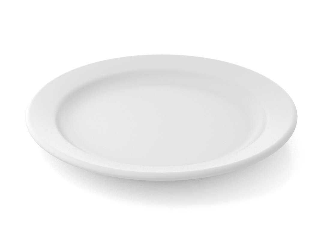 Shoham Main Course Plate 26cm 326 White