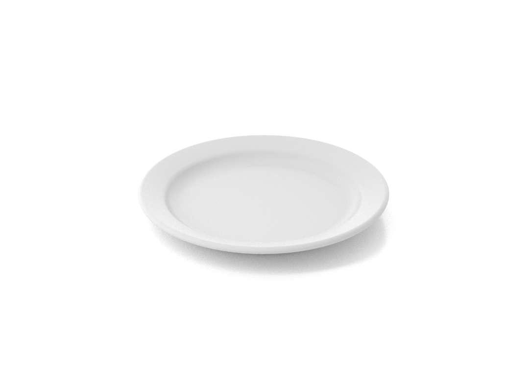 Shoham Small Plate 15cm 315 White