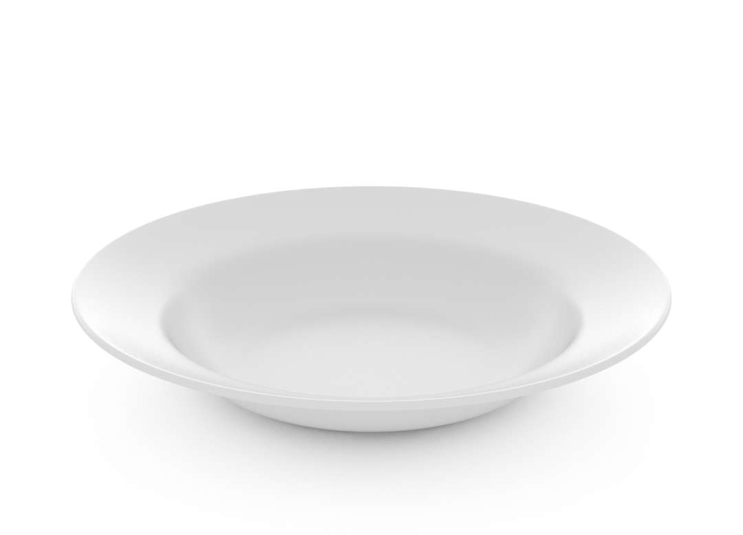 Basic Deep Plate 22cm 41 White
