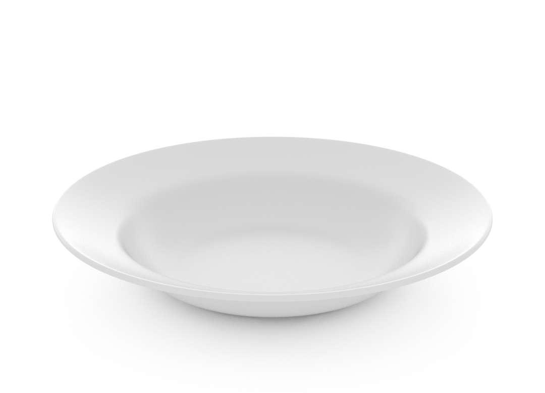 Basic Deep Plate 22cm 41 White