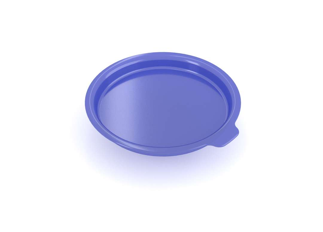 Complementary Products - Small Bowl Cover PES 10cm without Handle and without Vent 342 Arcopal Transparent Blue