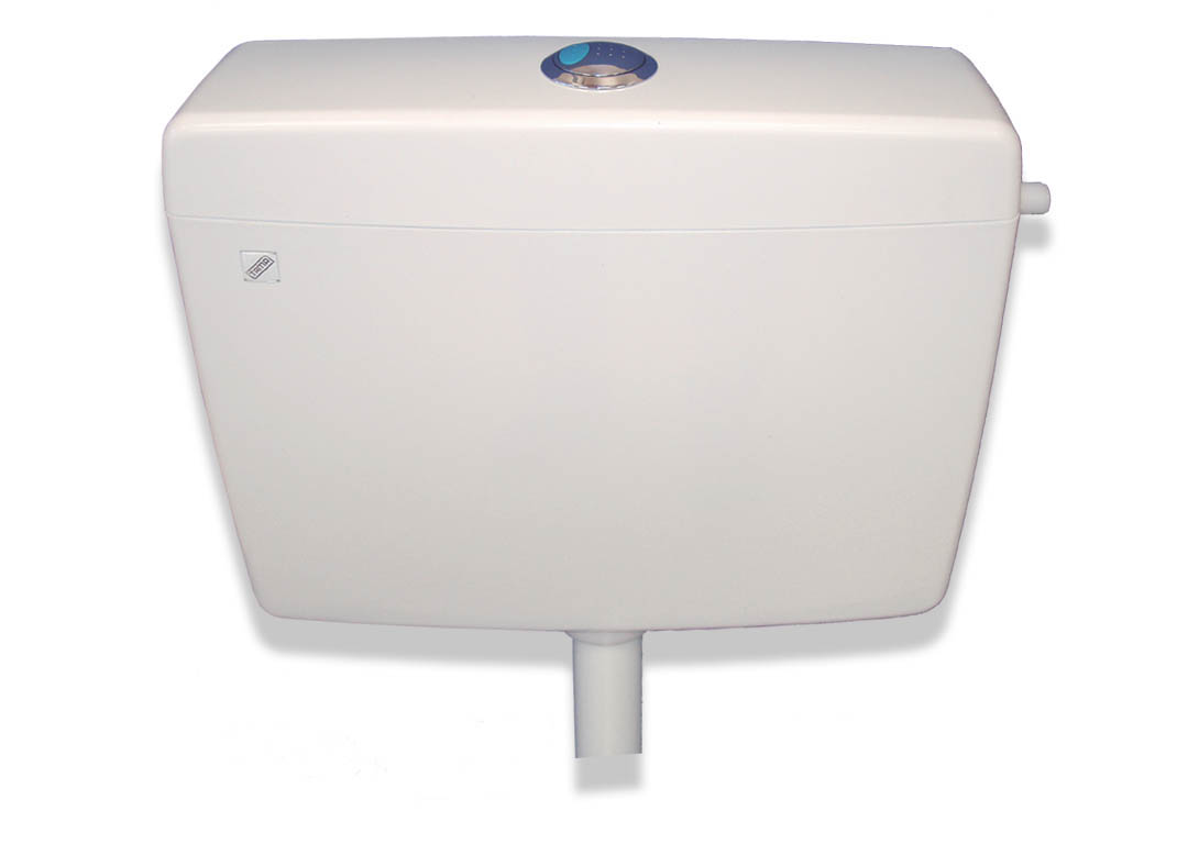 Bath Products Ocean Flushing Cistern Unit 4.5/9L 8400 White