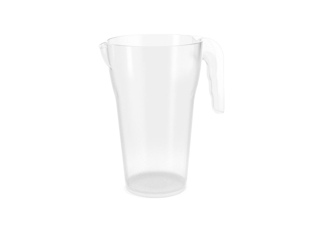 Designed Pitcher PC 2L 480-0 Transparent