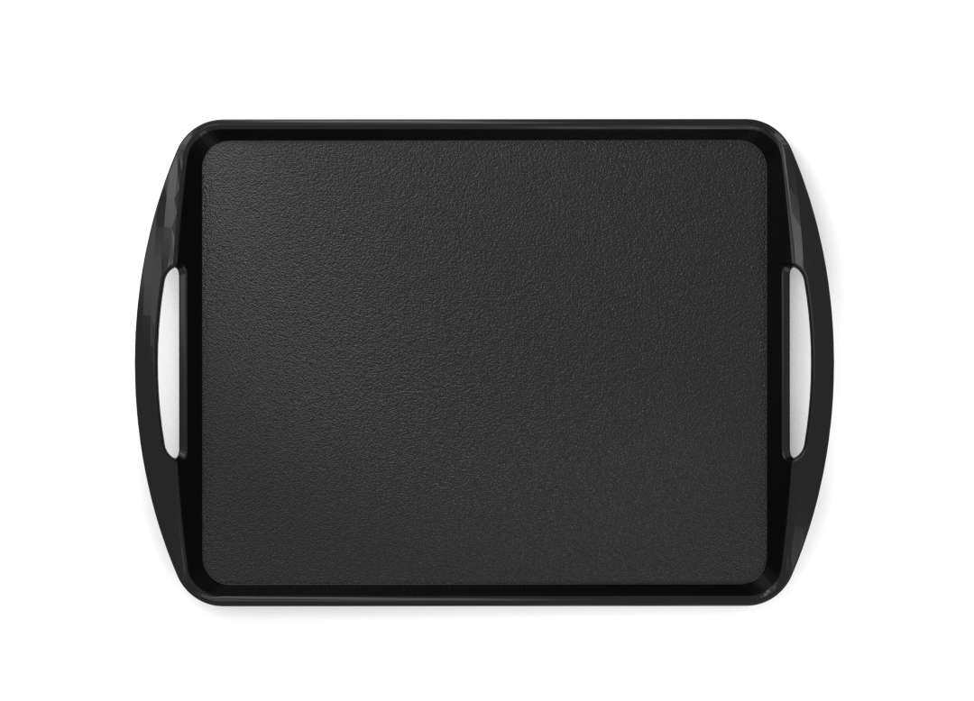Fast Food Tray 44x30cm 4430 Black