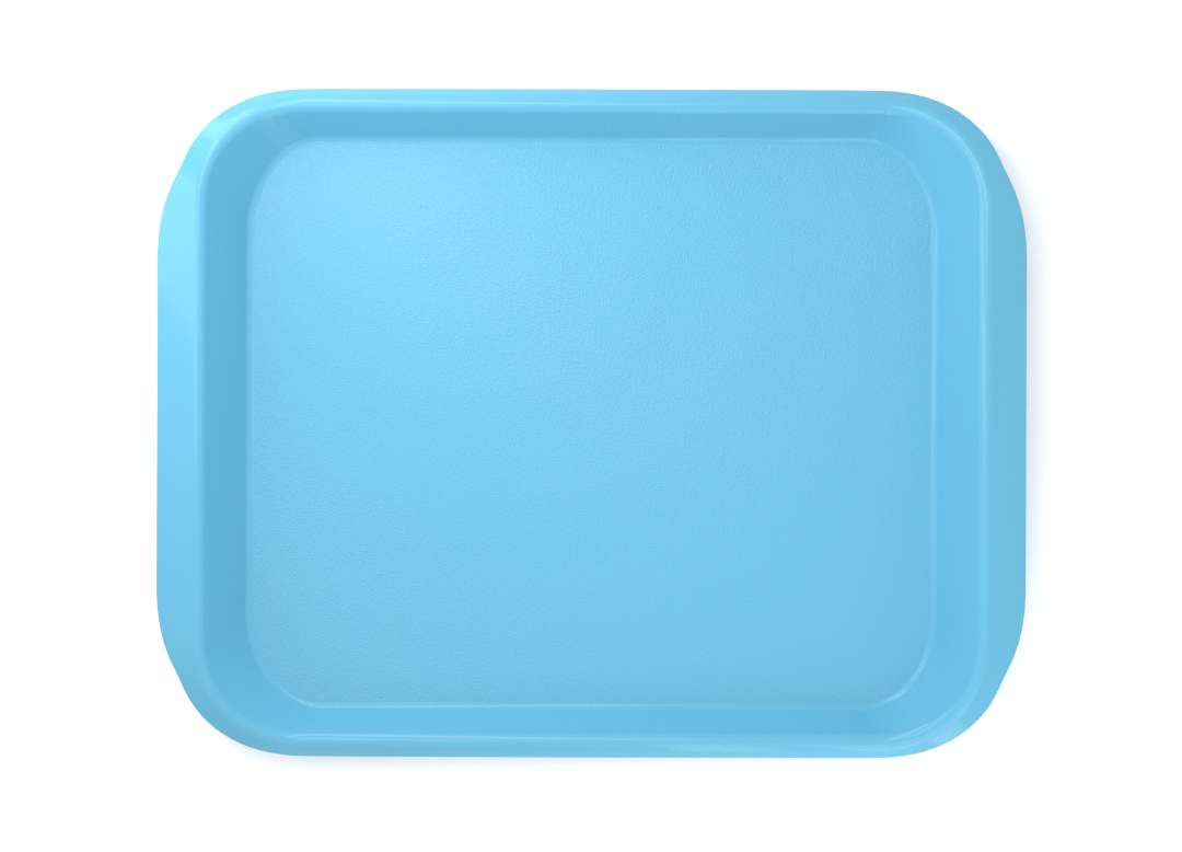 Premium Tray PC 46x36cm 4534-0 Light Blue