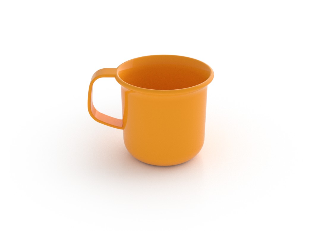 Adi Mug 225ml 660 Orange