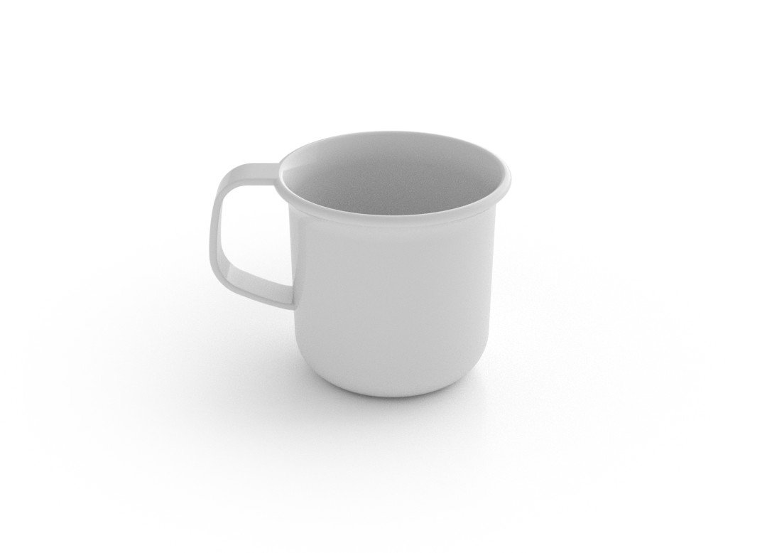 Adi Mug 225ml 660 White
