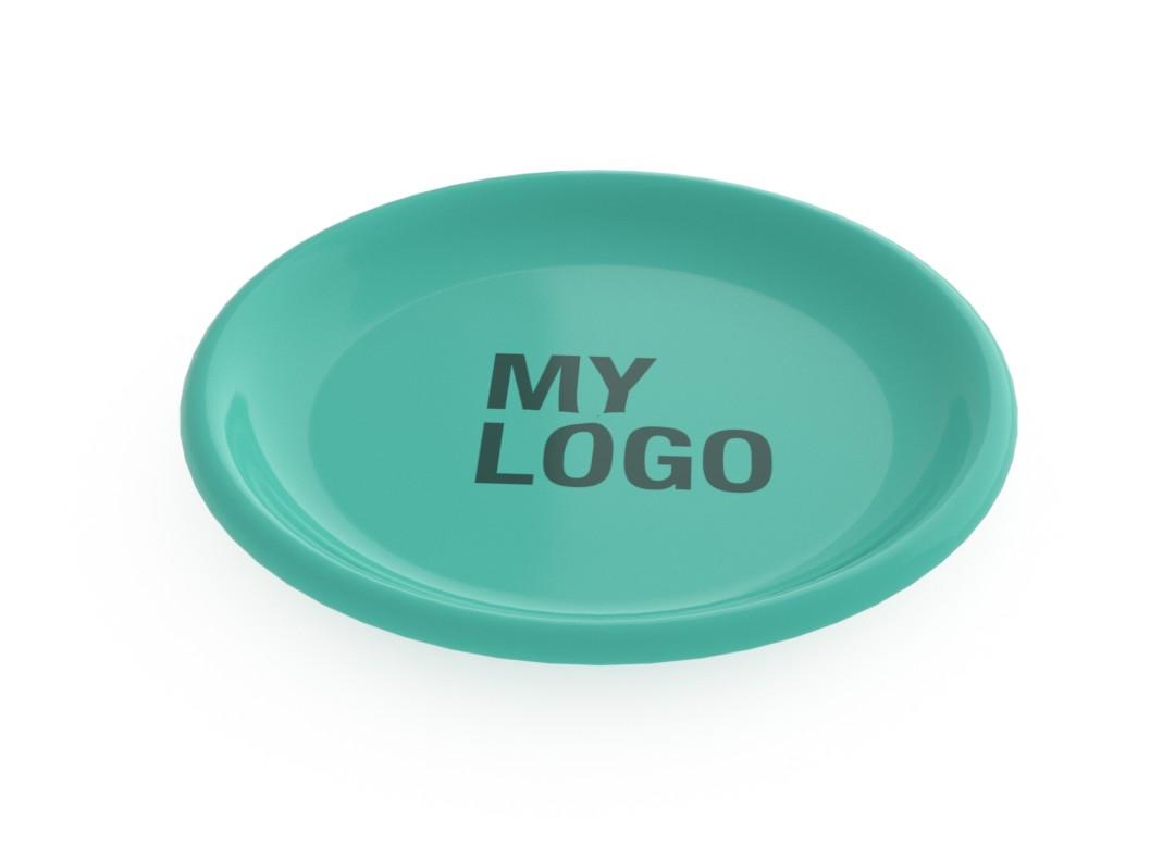 Branded Flat Plate 23cm 623