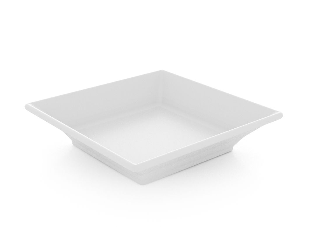 Large Square Salad Plate 15cm 391 White