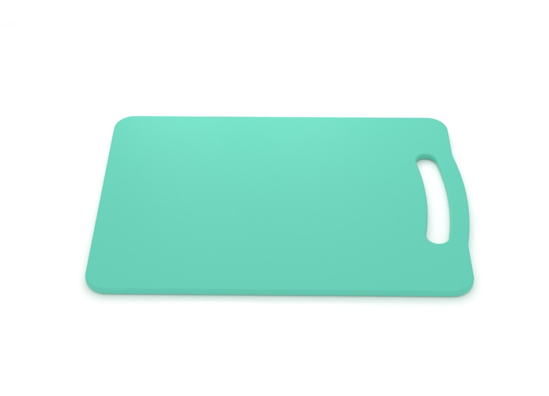 Medium Cutting Board 24x35cm 280 Turquoise