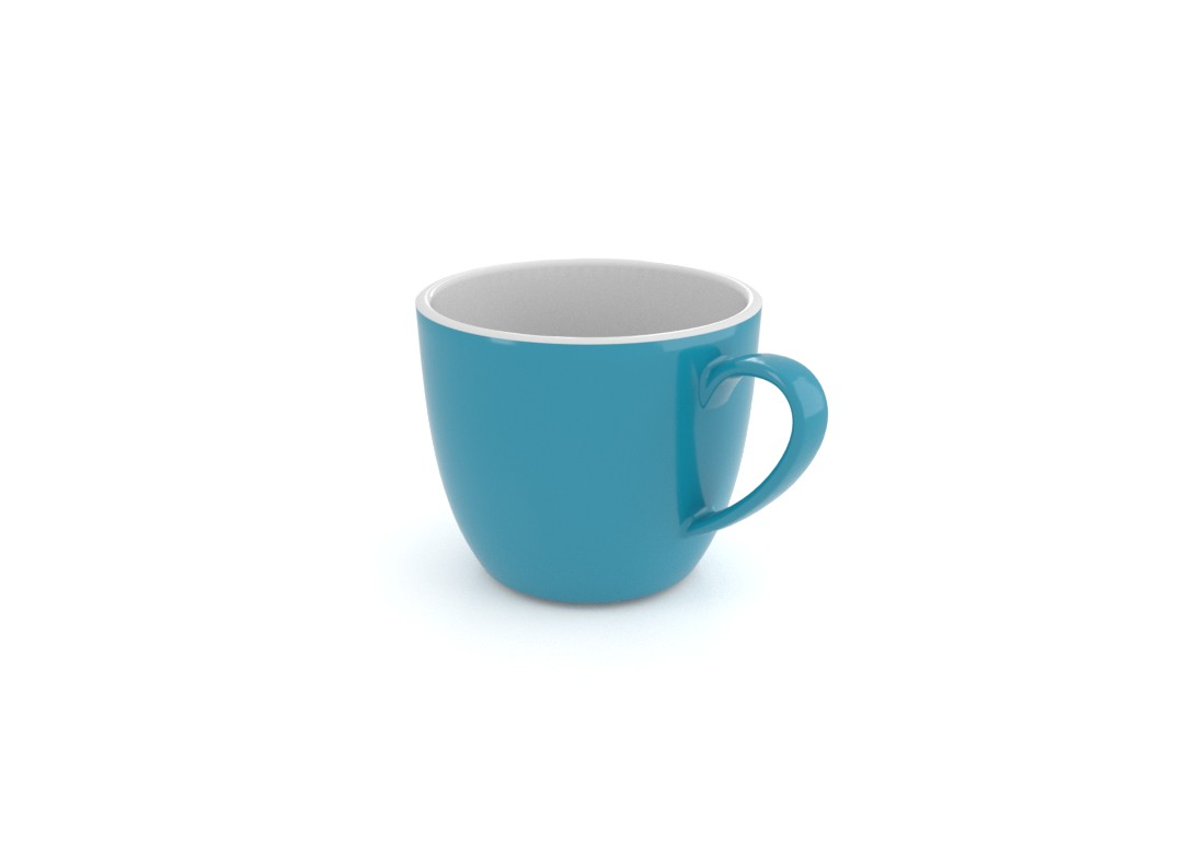 Ruby Decorative Cup 250ml 3108 Dark Turquoise
