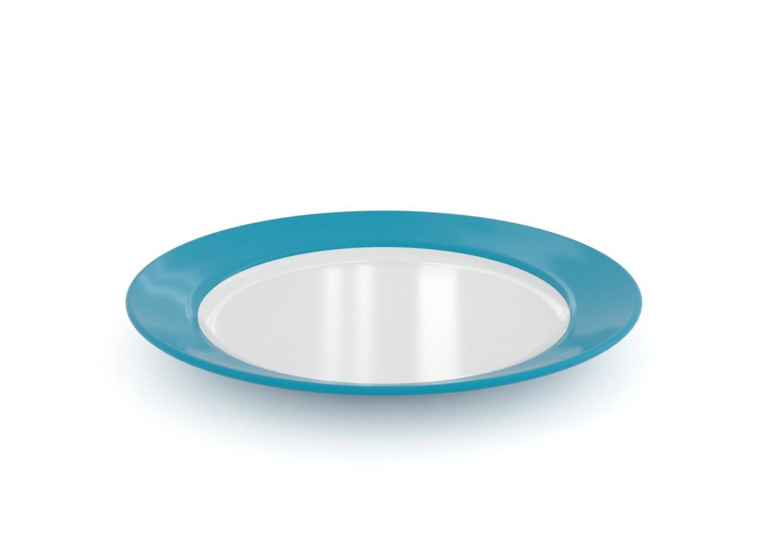 Ruby Decorative Plate 23cm 3123 Dark Turquoise