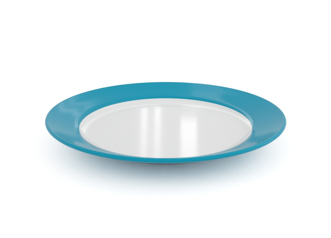 Ruby Decorative Plate 26cm 3126 Dark Turquoise