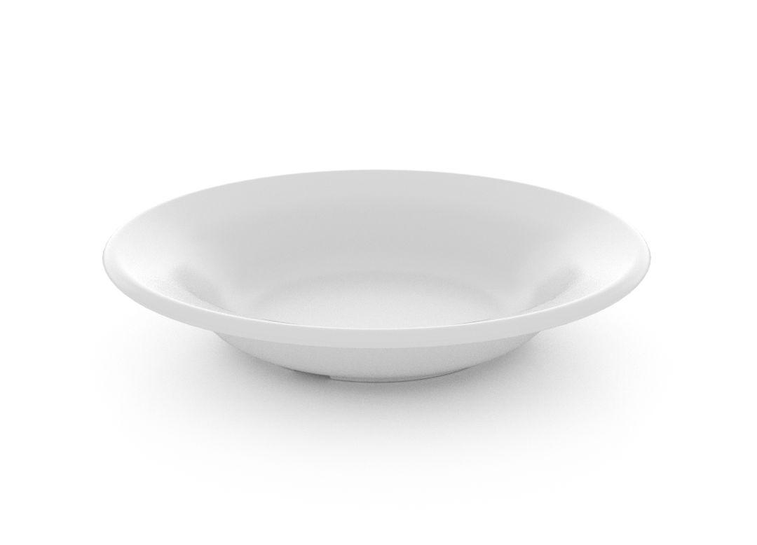 Salad Hummus Plate 19cm 330 White