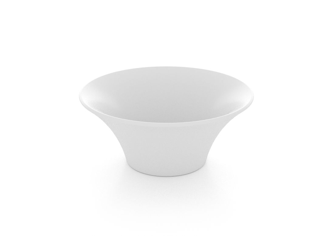 Small Salad Bowl 13.5cm 400 White