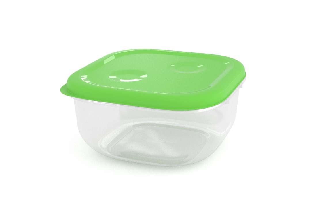 Tama Lock Square Container 1.3L 8130 Green