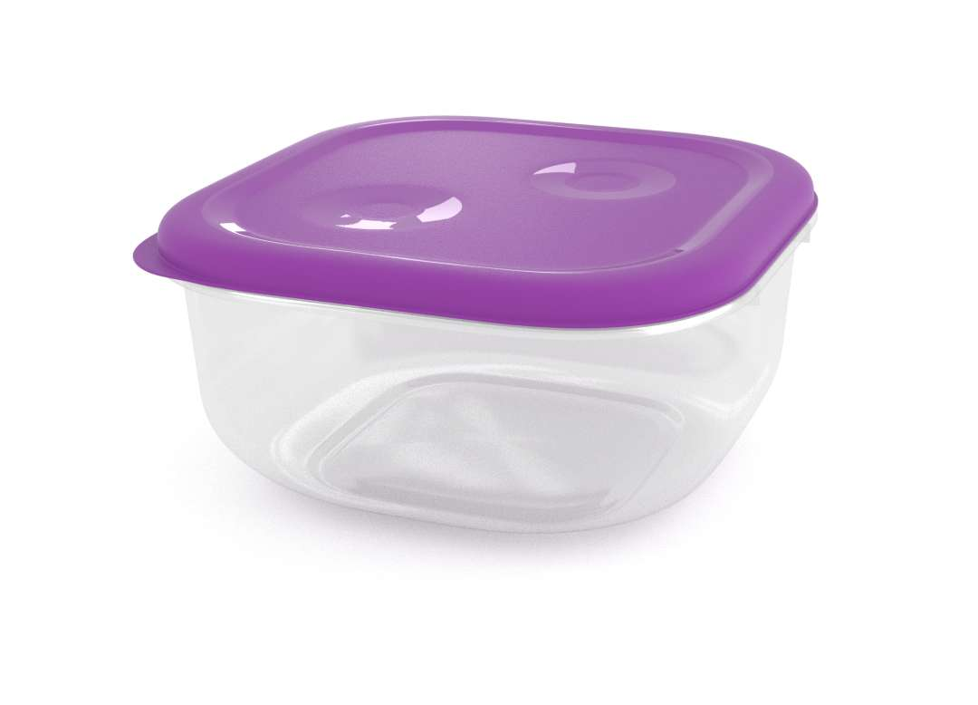 Tama Lock Square Container 2.4L 8240 Purple