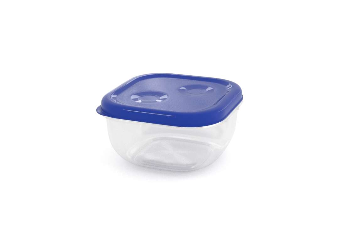 Tama Lock Square Container 500ml 8500 Dark Blue