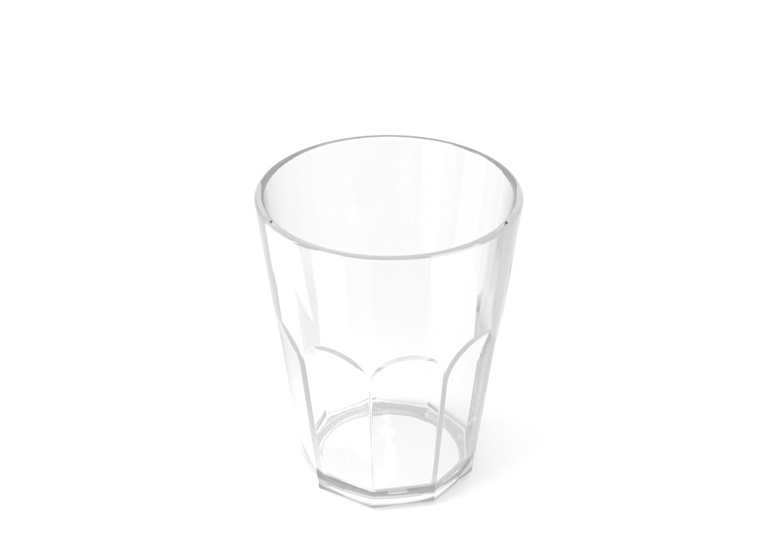 Soft Drink Cup 400ml 227 Transparent