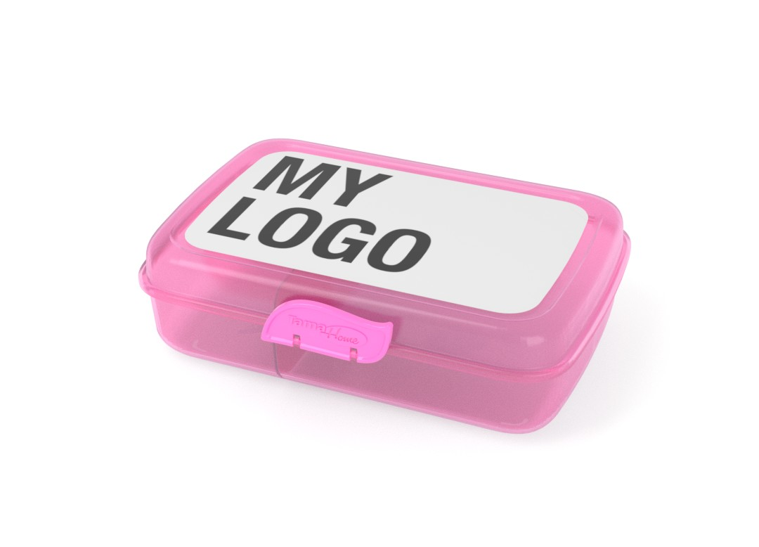 Branded Lunchbox 22x15x7cm 1002