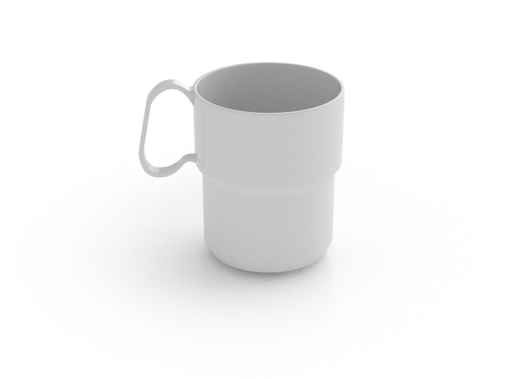 Odem Mug 300ml 260 White
