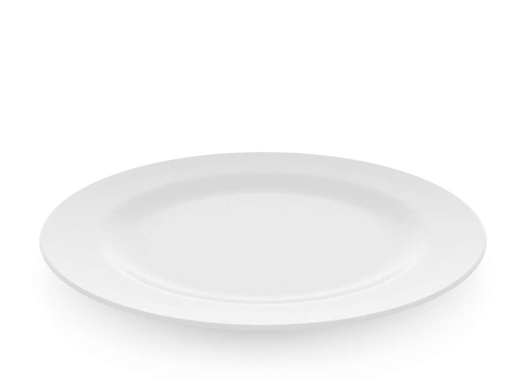 Plate for Children 27cm 516 White