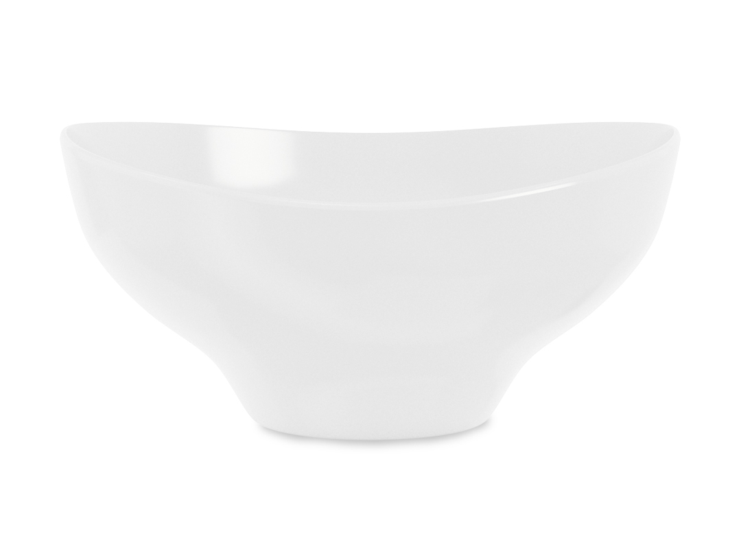 Dollar Bowl 37cm 1020 Buffet White