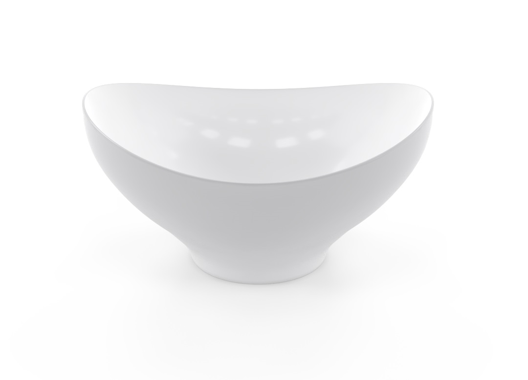 Dollar Bowl 28x27cm 1010 BUFFET White