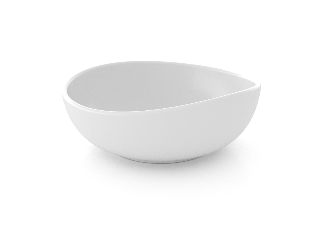 Medium Deep Tapas Bowl 14.5cm 334 White