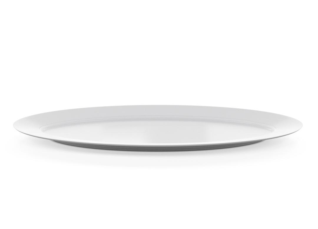 Oblong Oval Plate 71x285cm 1004 BUFFET White