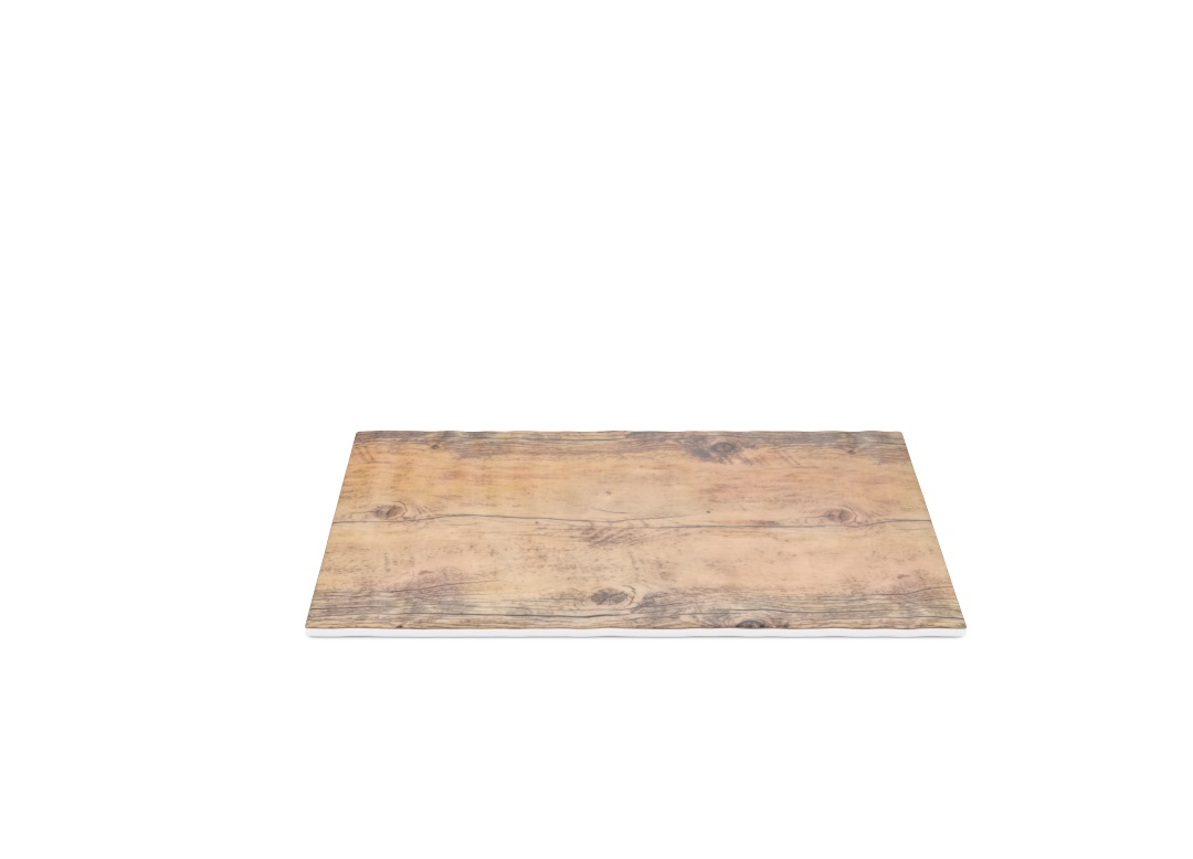 Rectangular Slate 32.5 17.5cm 1025 BUFFET Wood Like