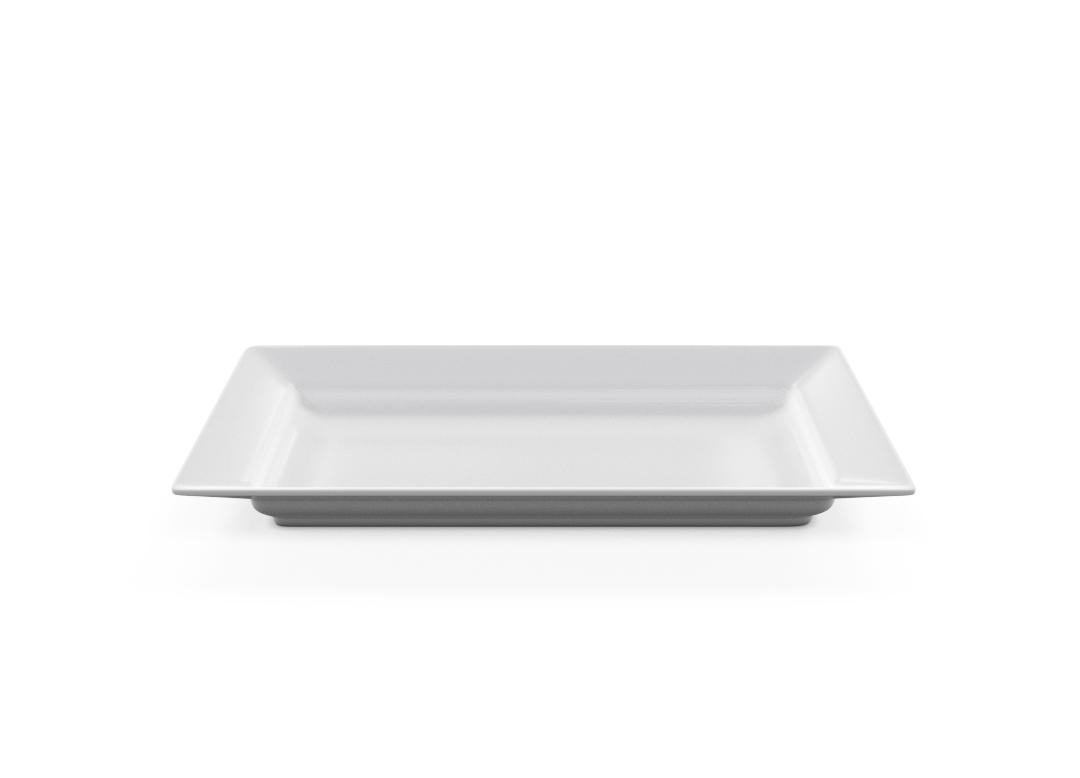 Rectangular Plate 35-5x20-5cm 1002 BUFFET White