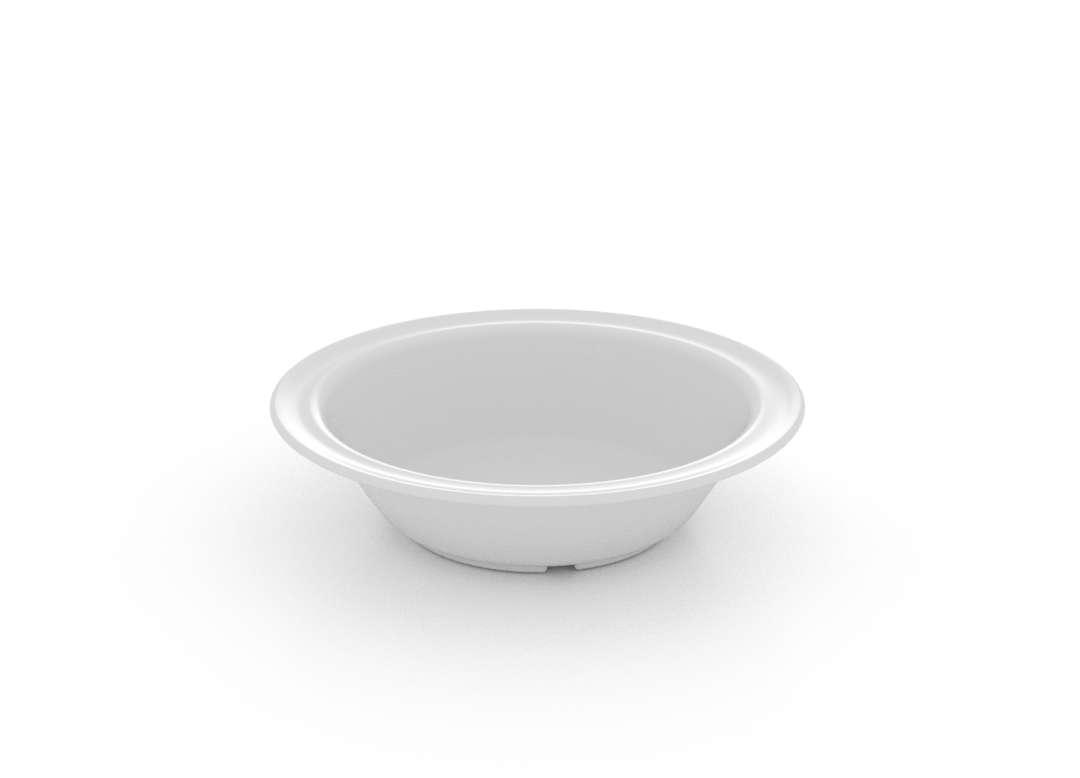 Soup Bowl for Children 513 White