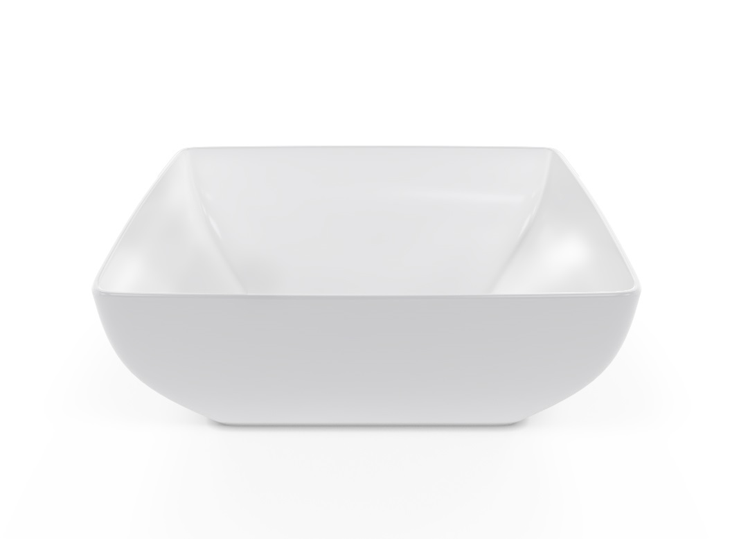 Square Bowl 27x27cm 1012 BUFFET White