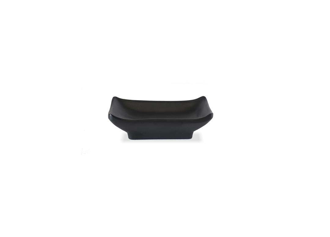 Rectangular Dish 6x9.5cm 1066 Black Stone