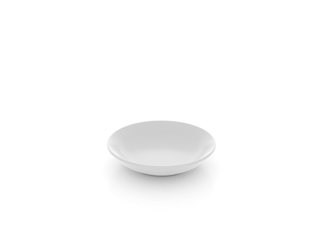 Salad Butter Pat Dish 10 9.2cm 103 White