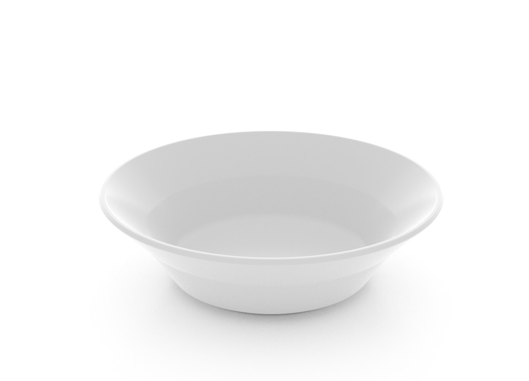 Designed Salad Bowl 401 White