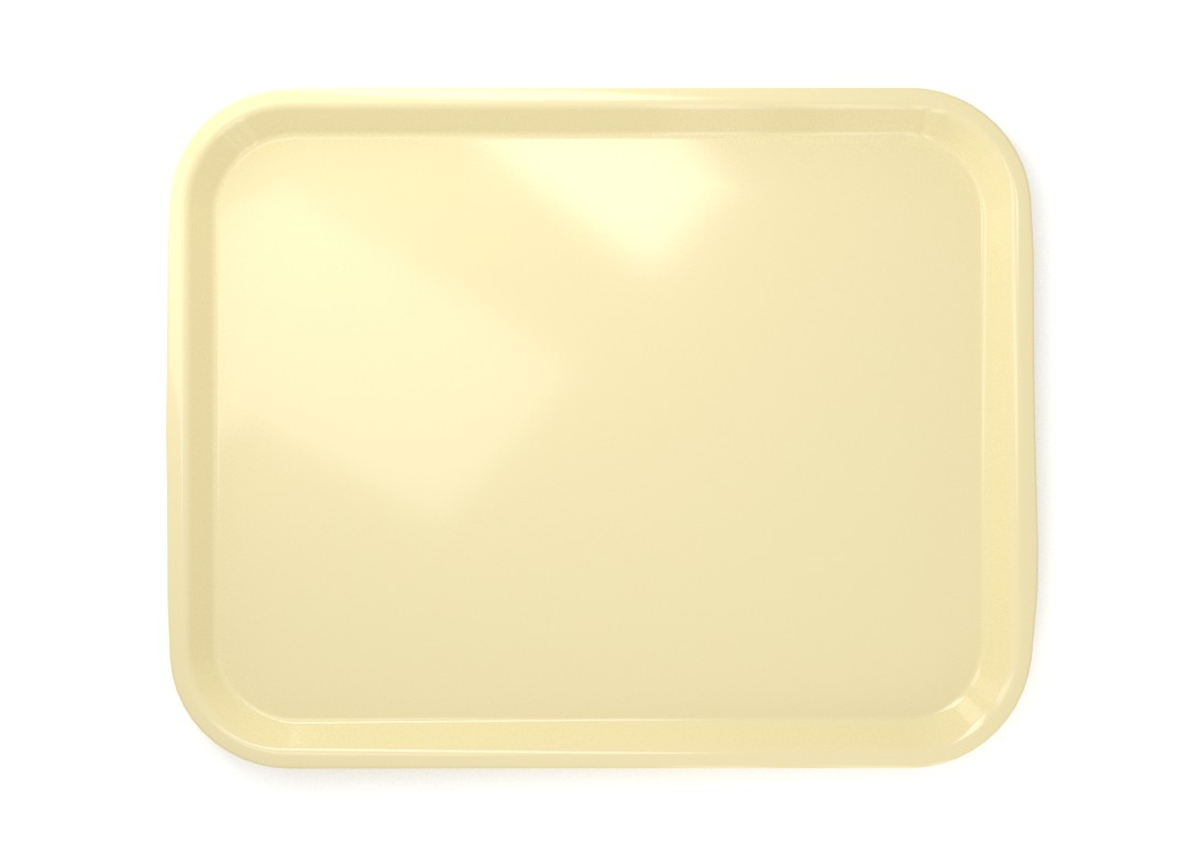 Rectangular tray 4636 Cream