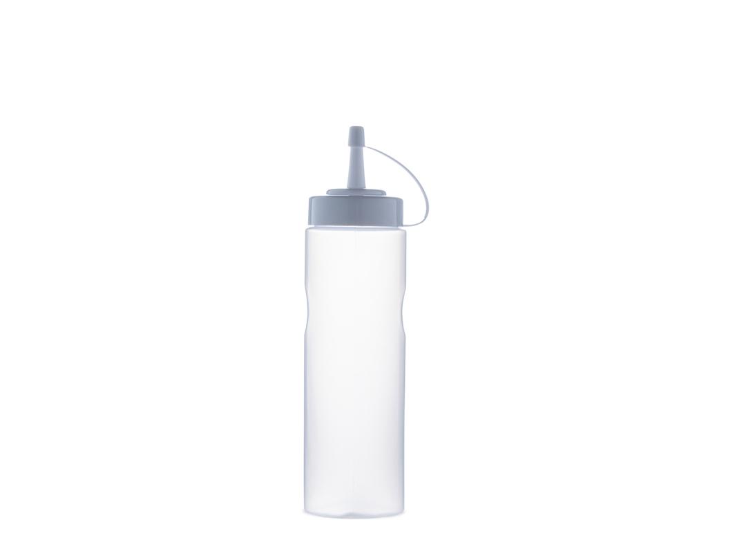 Sauce bottle squeezer 280ml 280 Transparent