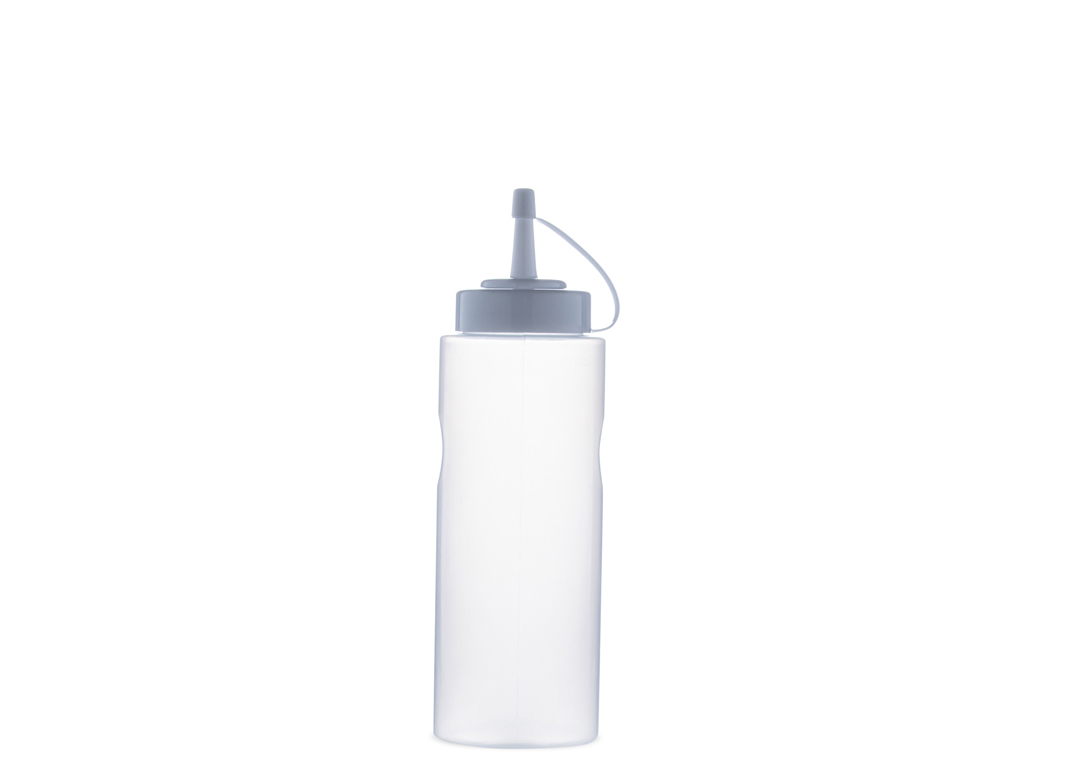 Sauce bottle squeezer 500ml 500 Transparent