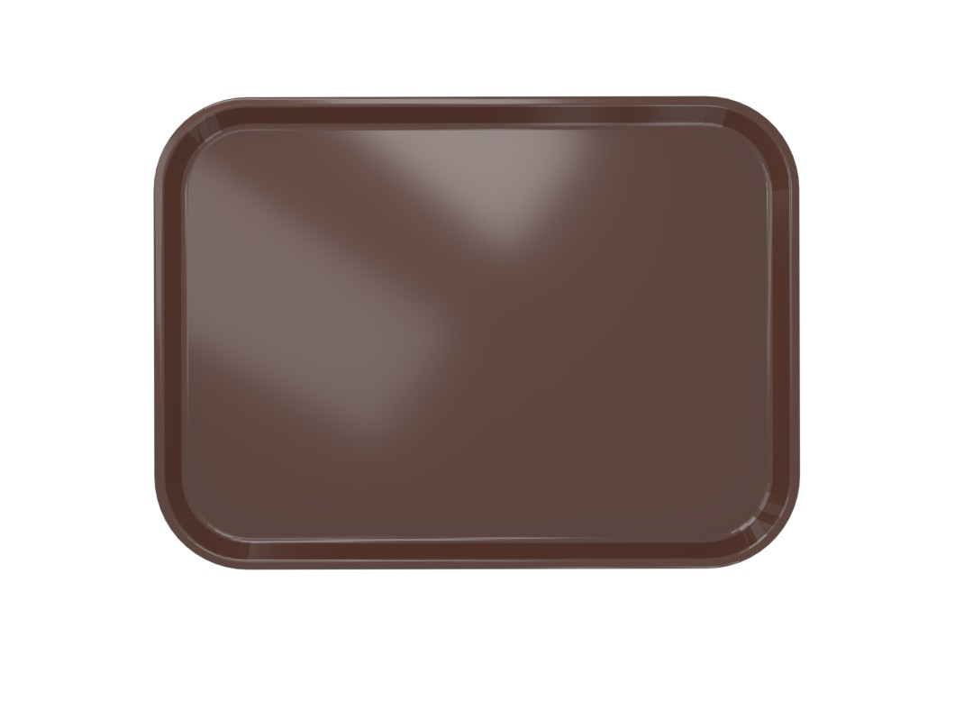 Medium Tray 41x30cm 4130 Brown