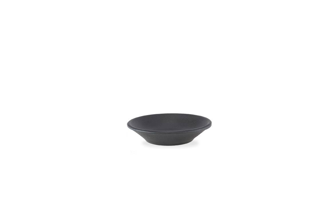 Stone Buffet Black soy dish 1.6x8cm 1040 Black