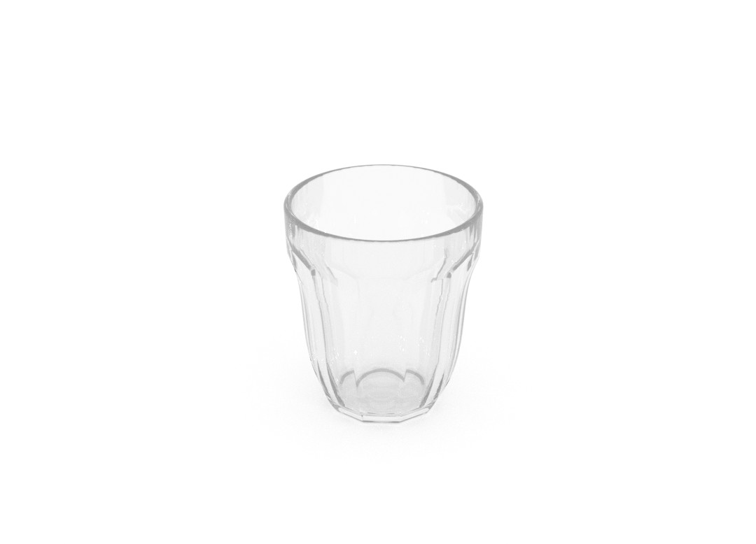 Tea Glass SAN 113 Transparent
