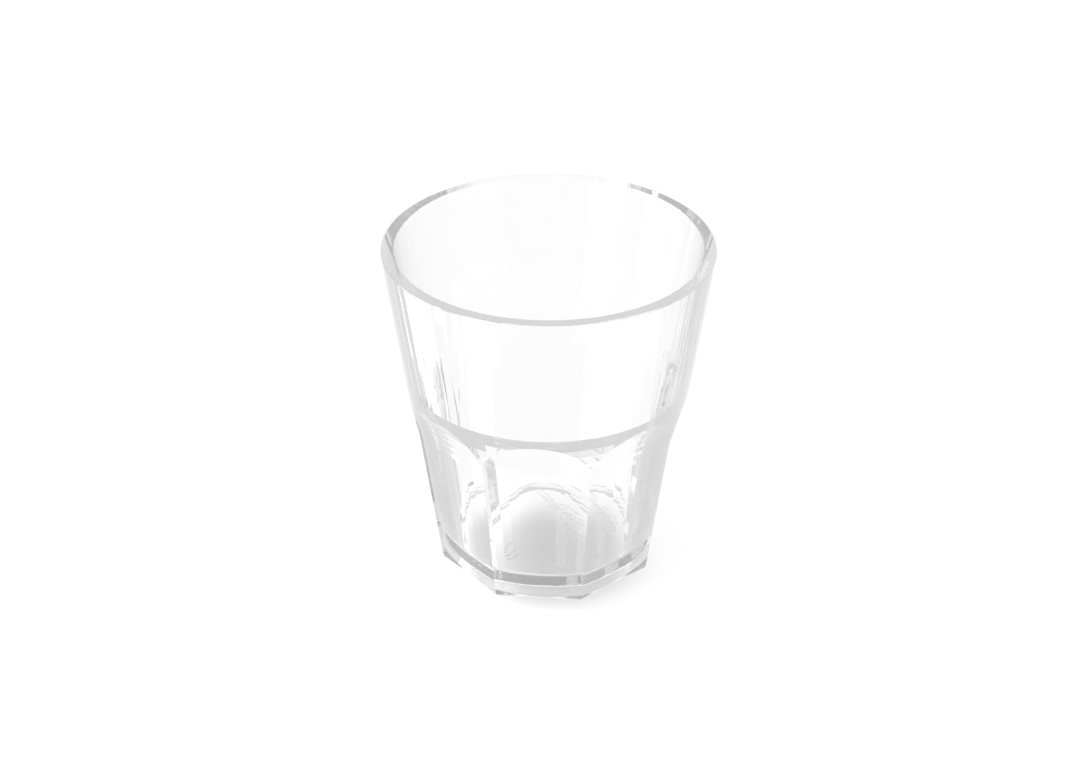 Small Soft Drink Cup 200ml 221 Transparent