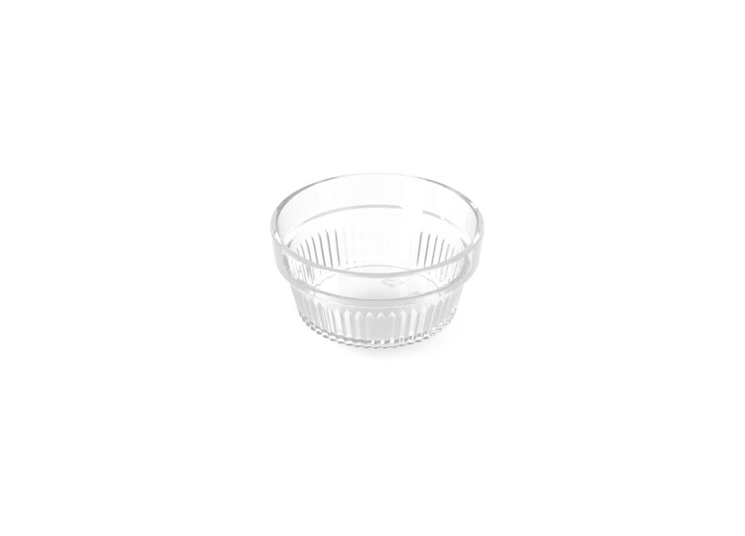 Tapas Dish SAN 7.5cm 230 Transparent